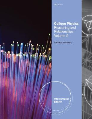 College Physics, Volume 2, International Edition (Paperback)