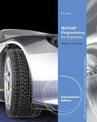MATLAB Programming for Engineers, International Edition (Paperback)