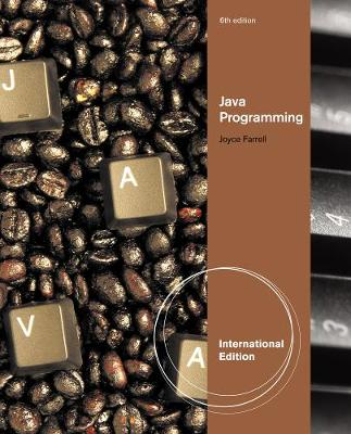 Java Programming, International Edition (Paperback)