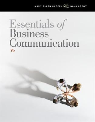 Essentials of Business Communication (with Student Premium Website Printed Access Card)