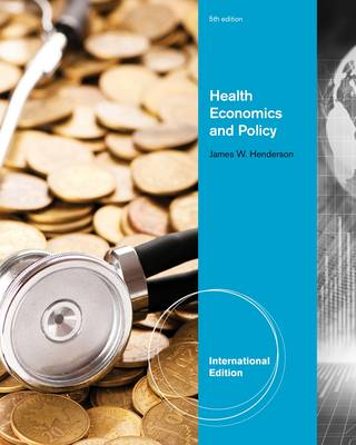 Health Economics and Policy (Paperback)