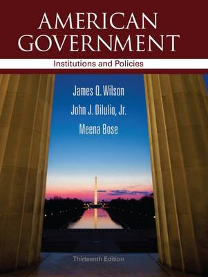 American Government: Institutions and Policies (Hardback)
