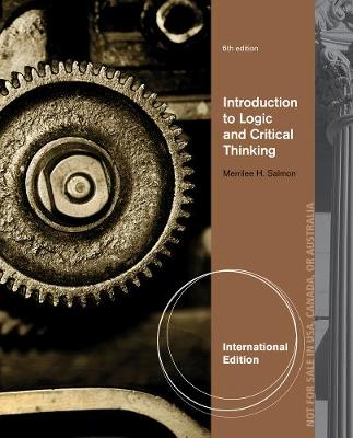 Introduction to Logic and Critical Thinking, International Edition (Paperback)