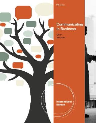 Communicating in Business, International Edition (Paperback)