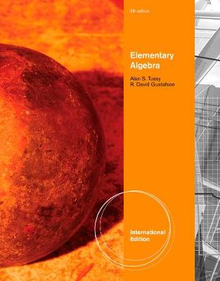 Elementary Algebra, International Edition (Paperback)