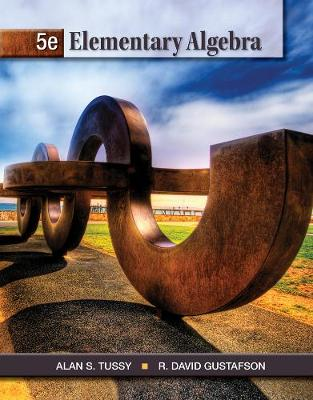 Student Workbook for Tussy/Gustafson's Elementary Algebra, 5th (Paperback)