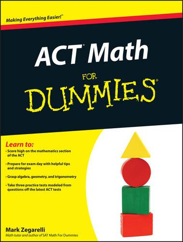ACT Math For Dummies (Paperback)
