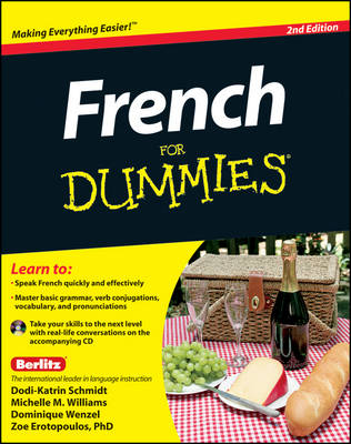 French For Dummies: with CD (Paperback)