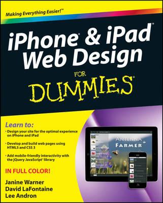 iPhone & iPad Web Design For Dummies (Paperback)