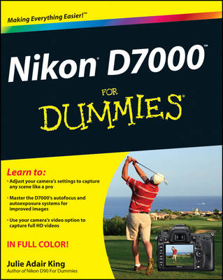 Nikon D7000 For Dummies (Paperback)