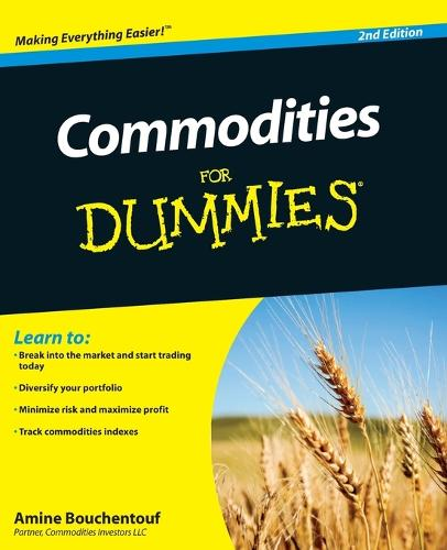 Commodities For Dummies (Paperback)