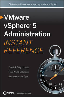 VMware vSphere 5 Administration Instant Reference (Paperback)