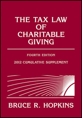 The Tax Law of Charitable Giving 2012: Supplement (Paperback)