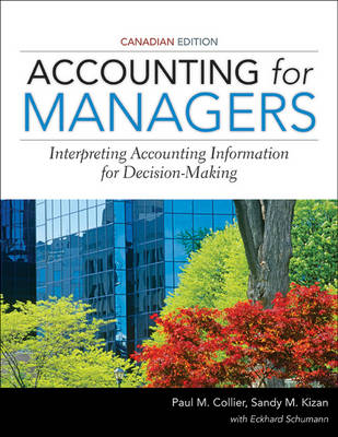 Accounting for Managers (Paperback)