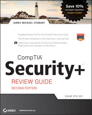 CompTIA Security+ Review Guide: (Exam SY0-301) Includes CD (Paperback)