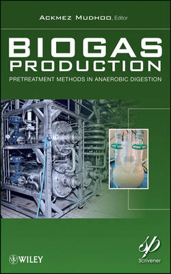 Biogas Production: Pretreatment Methods in Anaerobic Digestion (Hardback)
