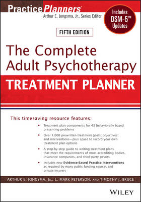 The The Complete Adult Psychotherapy Treatment Planner: The Complete Adult Psychotherapy Treatment Planner Includes DSM-5 Updates - PracticePlanners (Paperback)
