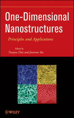 One-Dimensional Nanostructures: Principles and Applications (Hardback)