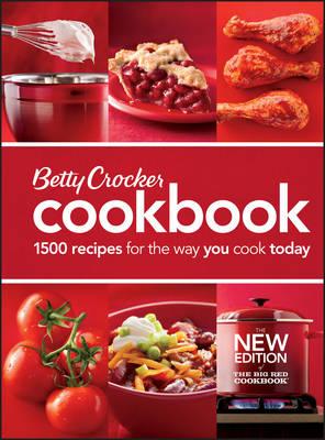 Betty Crocker Cookbook: The Big Red Cookbook (Spiral bound)