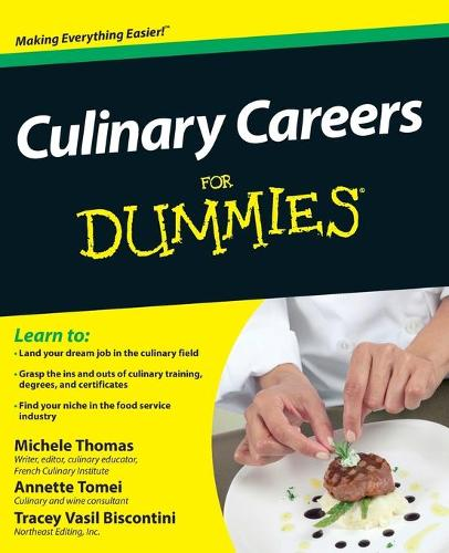 Culinary Careers For Dummies (Paperback)