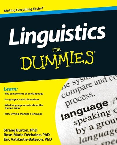 Linguistics For Dummies (Paperback)