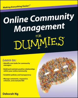 Online Community Management For Dummies (Paperback)
