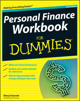 Personal Finance Workbook For Dummies (Paperback)
