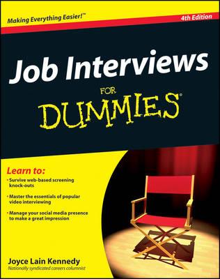Job Interviews For Dummies (Paperback)