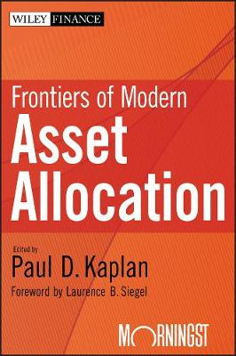 Frontiers of Modern Asset Allocation - Wiley Finance (Hardback)