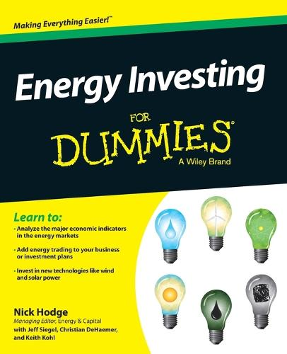 Energy Investing For Dummies (Paperback)