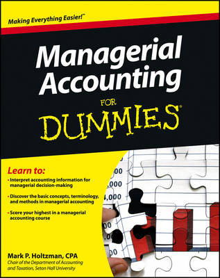 Managerial Accounting For Dummies (Paperback)