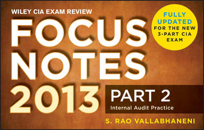 Wiley CIA Exam Review Focus Notes: v. 2: Internal Audit Practice (Paperback)
