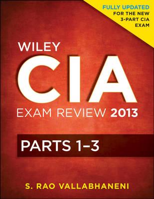 Wiley CIA Exam Review: v. 1-3 - Wiley CIA Exam Review Series (Paperback)