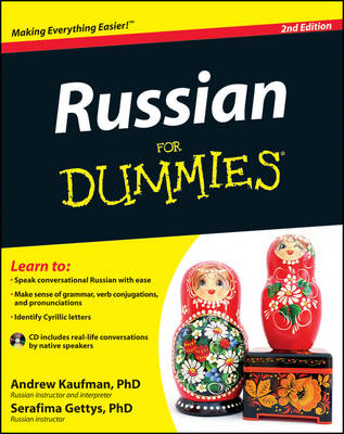 Russian For Dummies (Paperback)