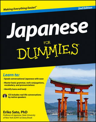 Japanese for Dummies, 2nd Edition with CD (Paperback)