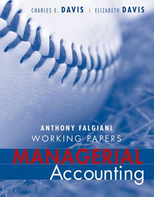 Managerial Accounting: Working Papers (Paperback)