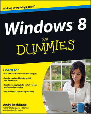 Windows 8 For Dummies (Paperback)