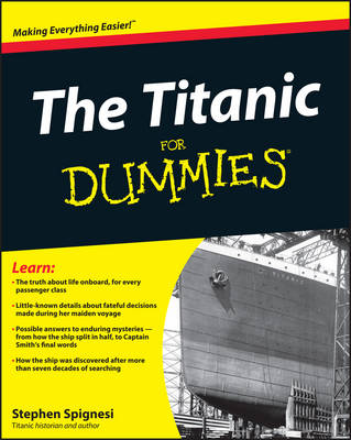 The Titanic For Dummies (Paperback)