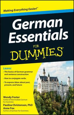 German Essentials For Dummies (Paperback)