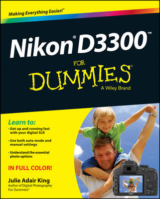Nikon D3300 For Dummies (Paperback)
