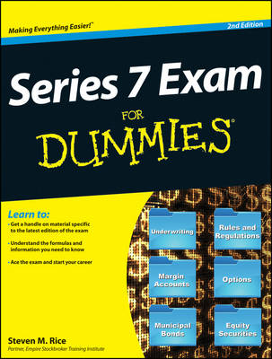 Series 7 Exam For Dummies (Paperback)