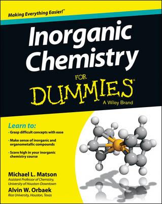 Inorganic Chemistry For Dummies (Paperback)