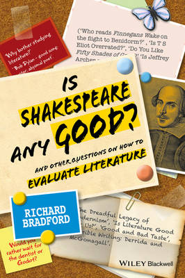 Is Shakespeare any Good?: And Other Questions on How to Evaluate Literature (Paperback)