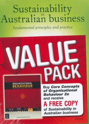 Organisational Behaviour Core Concepts + Sustainability Supplement (Paperback)