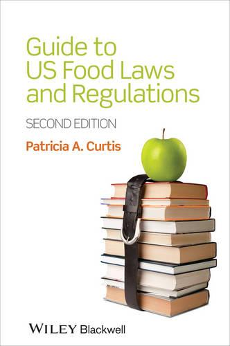 Guide to US Food Laws and Regulations (Paperback)