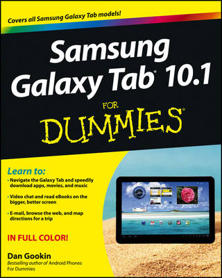 Samsung Galaxy Tab 10.1 For Dummies (Paperback)