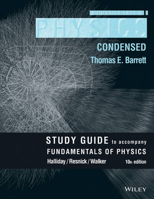 Student Study Guide for Fundamentals of Physics, 10e (Paperback)