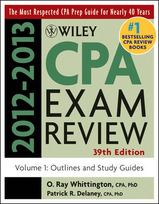 Wiley CPA Examination Review 2012-2013: v. 1: Outlines and Study Guides (Paperback)