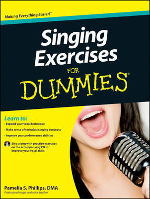 Singing Exercises For Dummies: with CD (Paperback)