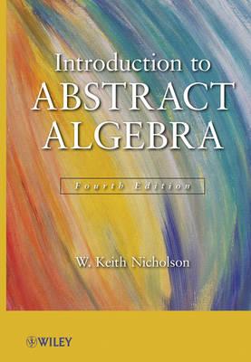 Introduction to Abstract Algebra, 4e Set (Hardback)